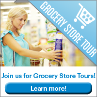 Grocery store tours with Fitness Together. Learn to shop smart!
