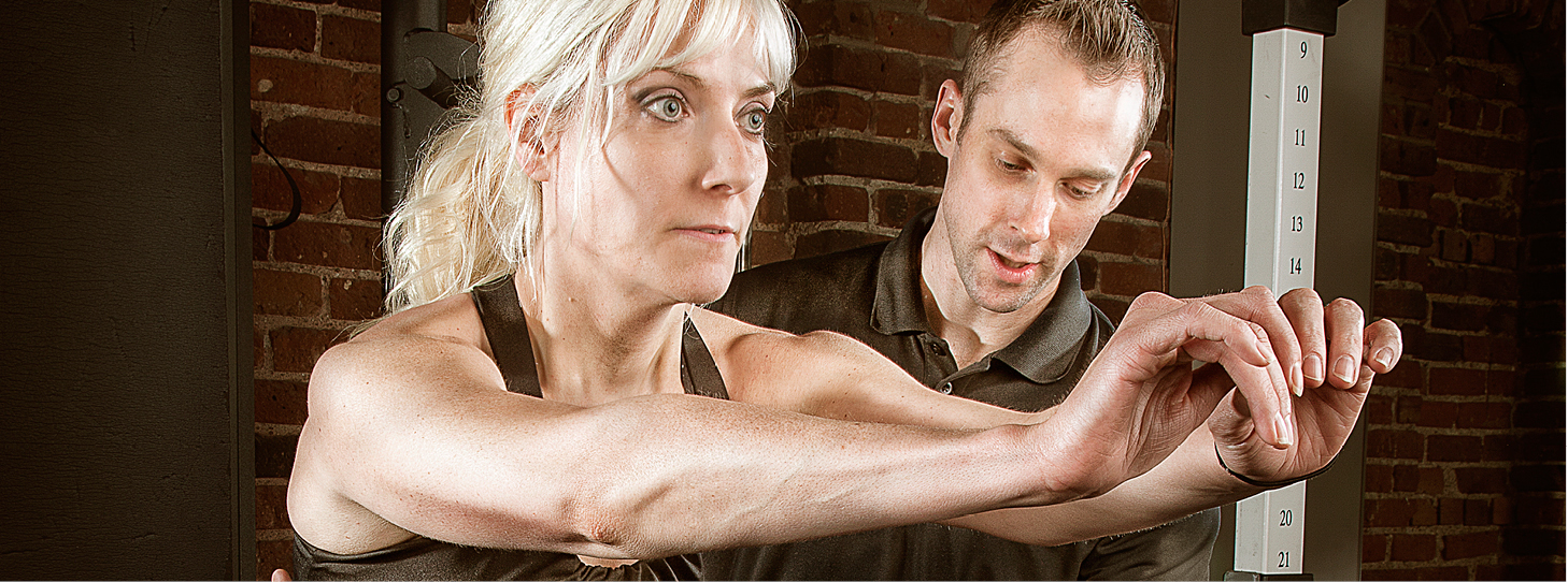 Fitness Together Personal Training Female Client Male Personal Trainer