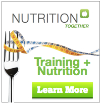 Nutrition Together Promo Button - Training and Nutrition