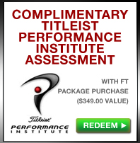 Complimentary TPI assessment with the purchase of a package (a 349.00 value)