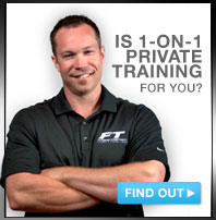 Personal Training with Arms Crossed with caption is 1-on-1 training right for you