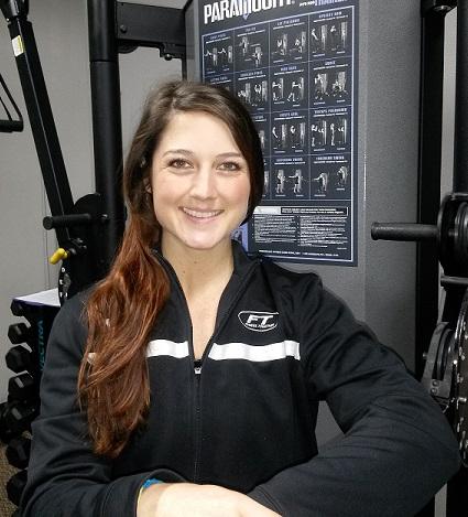 our trainer Faith