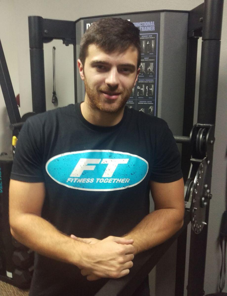 Matt at the Fitness Together studio
