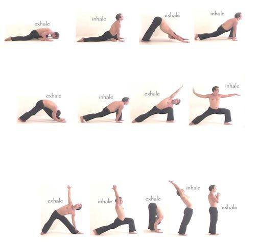 Beginner Vinyasa Sequence