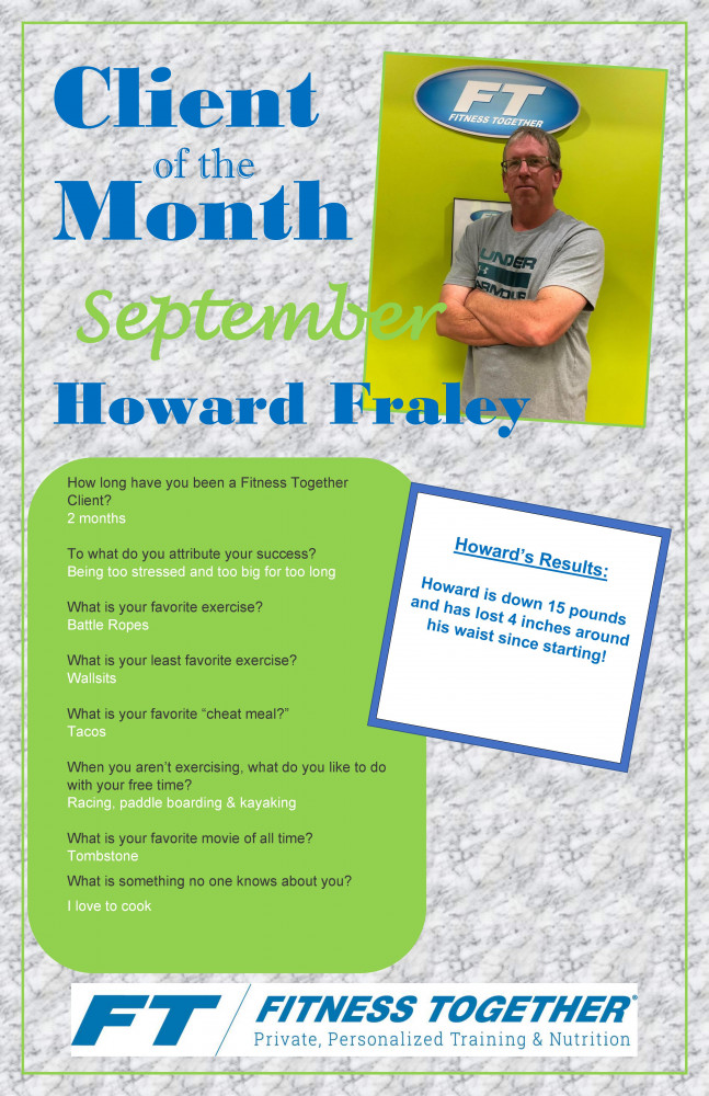 Client of the Month September 2019