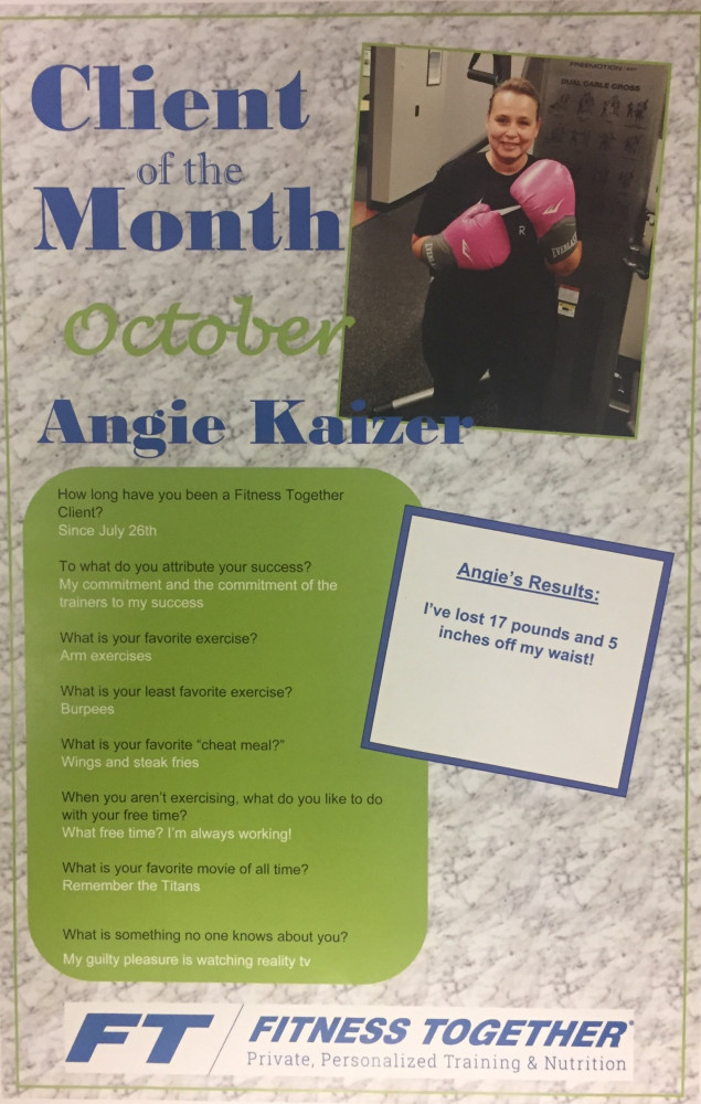 Client of the Month October 2019