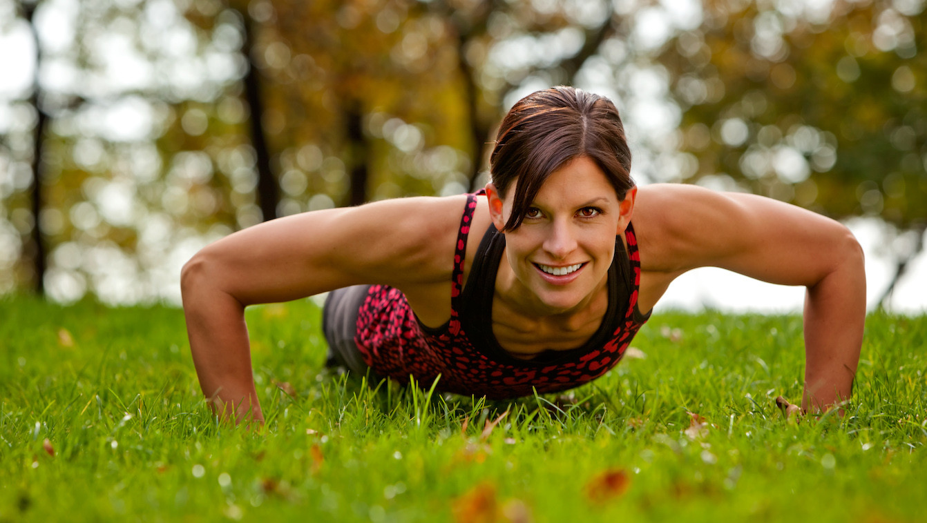 Four Exercises That Will Help You Build up to a Push-up