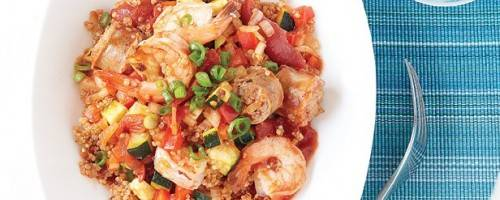 Read Full Article on Quinoa Jambalaya