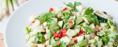 Read Full Article on Green Apple & Macadamia Quinoa Salad