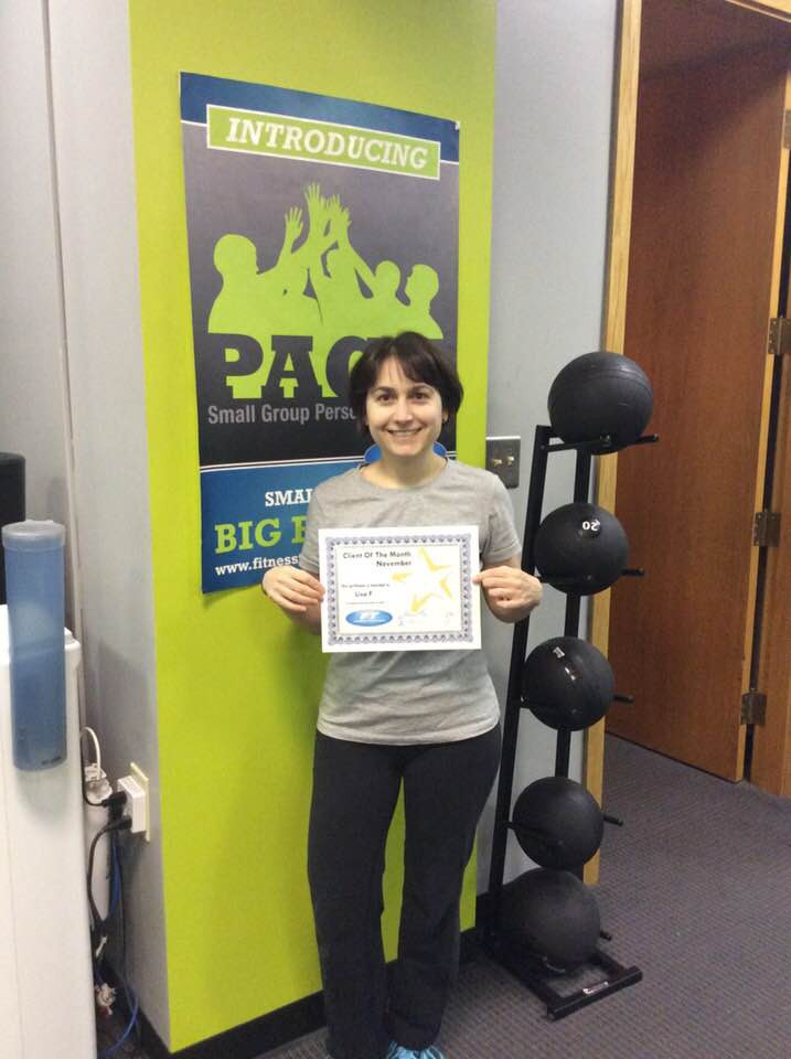 Lisa Fanjoy, Client of the Month!