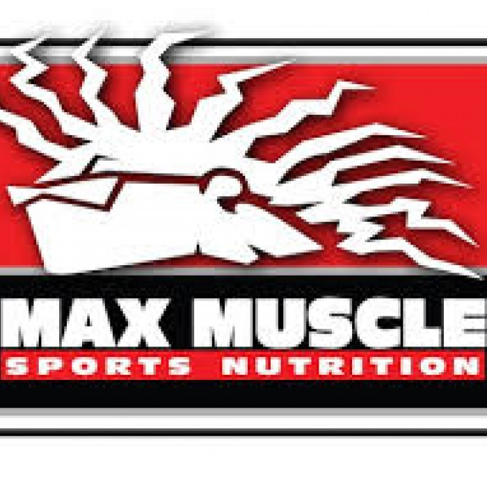 Max Muscle Sports Nutrition, Feeding Your Passion. Logo