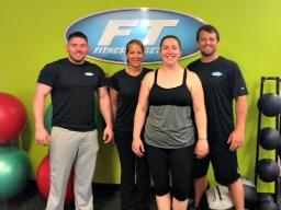Cassy Dow and FT East Greenwich Trainers