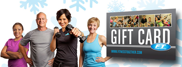 Gift cards for Fitness Together!