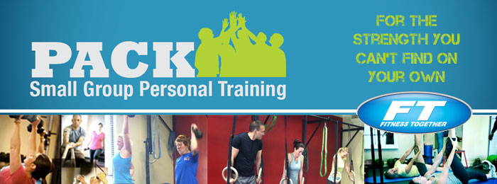 Small group personal training at Fitness Together