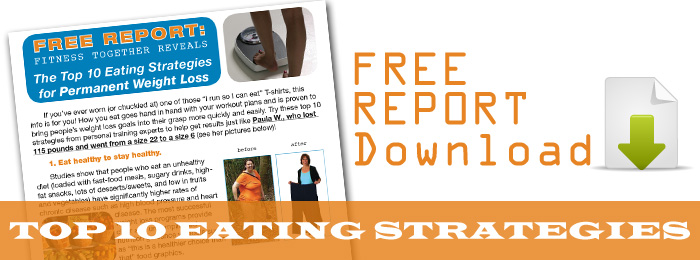 FREE REPORT - Top 10 Eating Strategies for Perm. Weight Loss