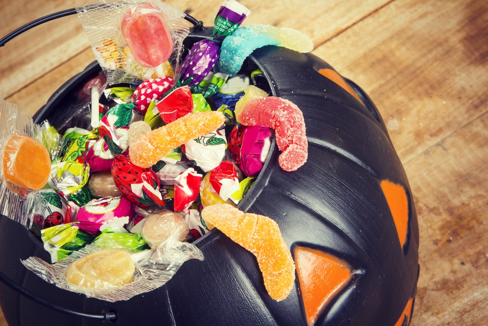 halloween candy gratitude giving holiday