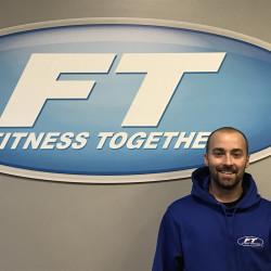 Joe with the FT logo