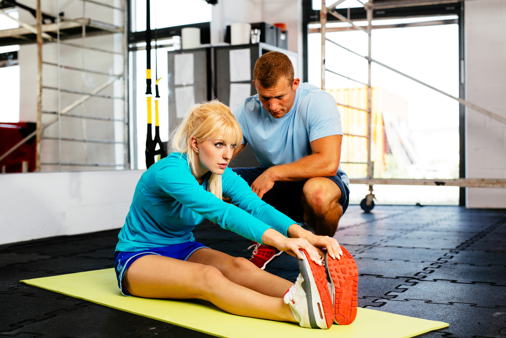 personal training fitness workout exercise accountability in shape